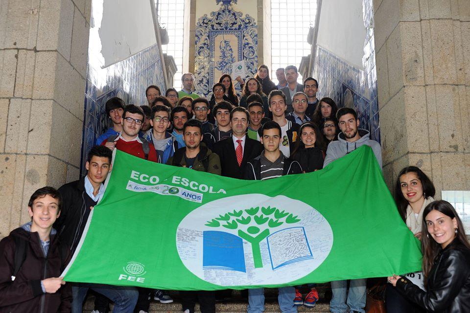 Eco-Escolas de Braga recebidas no município
