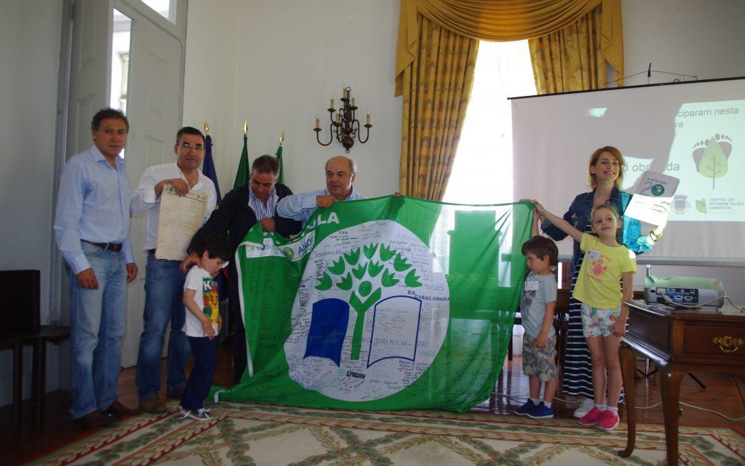 Rota Eco-Escolas termina na Mealhada com apadrinhamento da atriz Alda Gomes